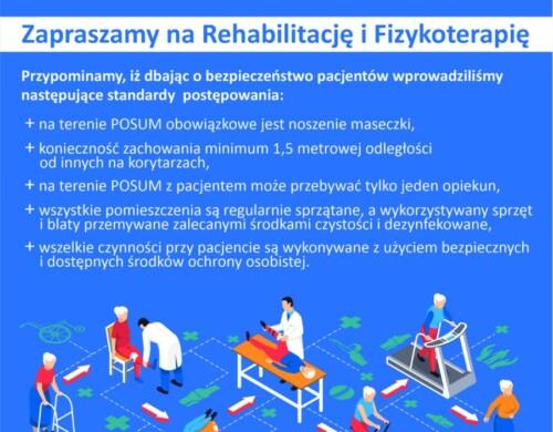 Zapraszamy na Rehabilitację i Fizykoterapię